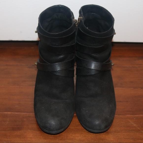 6b2ca6621f9c bp Shoes - BP. Black  Train  Wrap Belted Booties